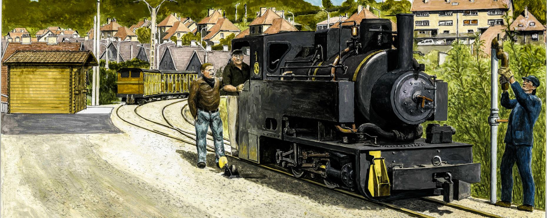 Train Minier reprise le Dimanche 6 Août